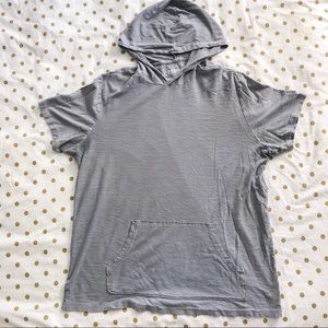 Hooded Tee with Front Pocket